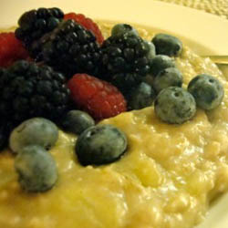 Berry Easy Oatmeal