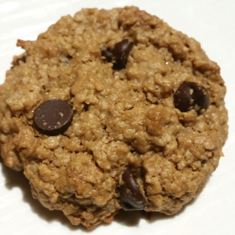 Chocolate Chip Tahini Oatmeal Cookies