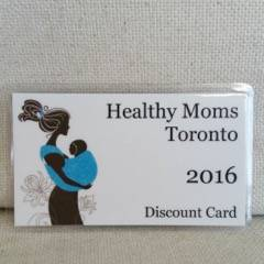Healthy Moms Toronto Discount Card