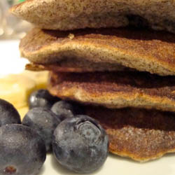 Recipe Blueberry Buckwheat Pancakes
