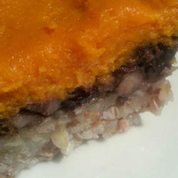 Black Bean and Sweet Potato Casserole