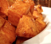 Cinnamon-Maple Sweet Potatoes